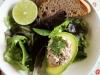 Cilantro-Lime Sardine Salad in Avocado Halves