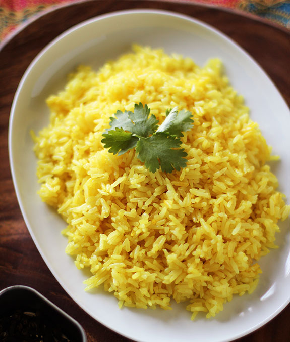 Mexican Yellow Rice Fragrant yellow rice