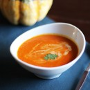 Roasted Tomato, Squash and Coconut Milk Bisque