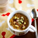 Spiced Pumpkin Quinoa Breakfast Porridge / Eat Your Greens