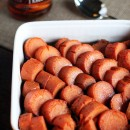 Coconut-Chai Roasted Sweet Potatoes with Bourbon