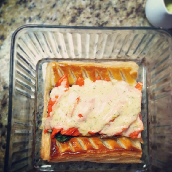 Salmon in Puff Pastry / Eat Your Greens
